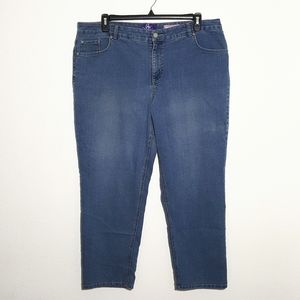 Just My Size   classic fit jeans sz 20ws